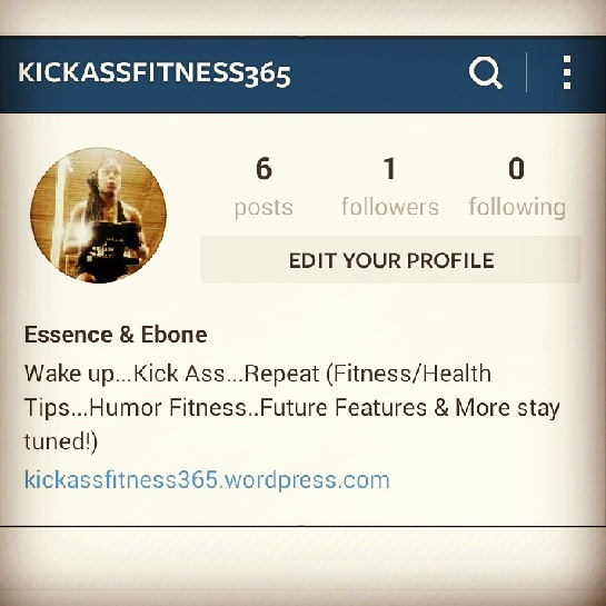 New Fitness IG Page... *nerves*