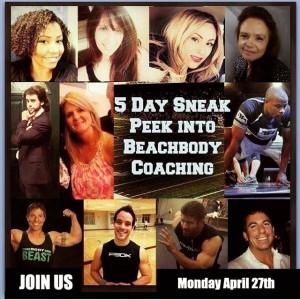 sneak peak to coaching