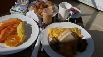 DR breakfast