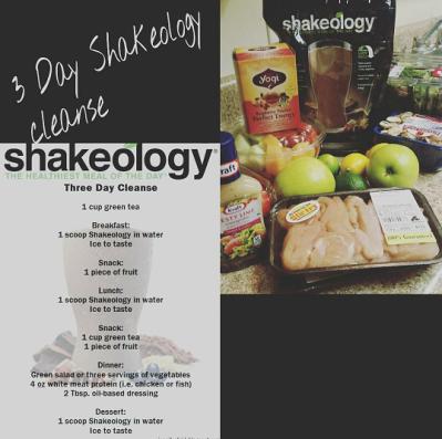 Shakeology - shake pic